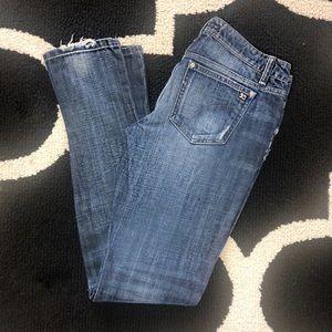 Joes Jeans Chelsea Distressed Skinny sz 29